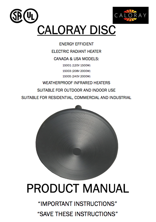 download product Cut Sheet